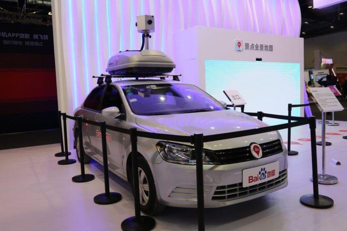 Baidu promete carro que não precisa de motorista para 2018