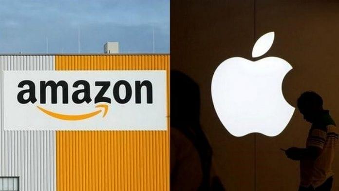 Quem é Mais Forte Amazon ou Apple