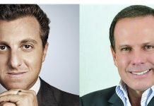 """Luciano Hulk e Doria mamaram em """"teta"""" petista diz Bolsonaro"""