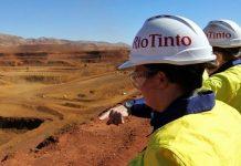 Vale perde para Rio Tinto o titulo de maior produtora global de minério de ferro
